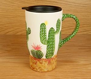 Boulder Cactus Travel Mug