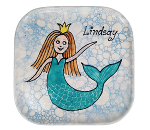 Boulder Mermaid Plate
