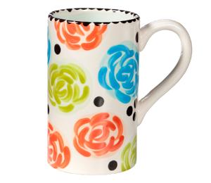 Boulder Simple Floral Mug