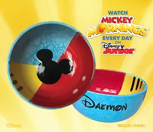 Boulder Mickey's Bubble Bowl