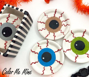 Boulder Eyeball Coasters